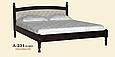 Кровать деревянная Л-231 1,8, фото 6