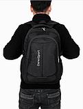 Рюкзак спортивный черный DerenSport, фото 2