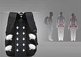 Рюкзак спортивный черный DerenSport, фото 4