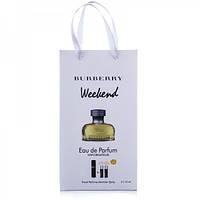 Burberry weekend for women 45ml, подарочный набор