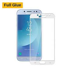 Защитное стекло OP 3D Full Glue для Samsung J330 J3 2017 белый