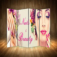 Ширма декоративна для салону краси