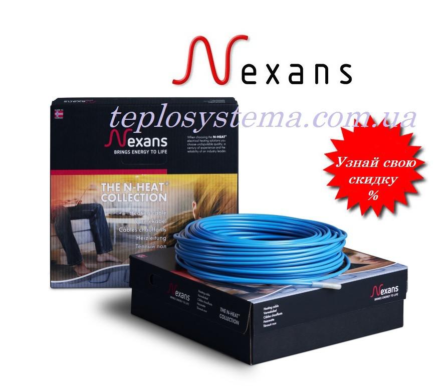 Двухжильный нагревательный кабель NEXANS TXLP/2R – 1370 Вт (8,1 м2) Норвегия
