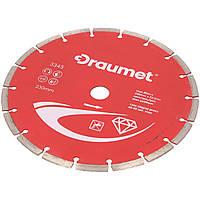 Круг алмазний сегментний  230х22,2 мм DRAUMET