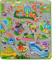 Детский развивающий игровой коврик бебипол Babypol Веселое Движение M3511