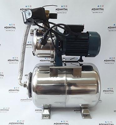 Автономная станция водоснабжения «Насосы + Оборудование» AUJS 110/24LSS (нержавеющий бак)