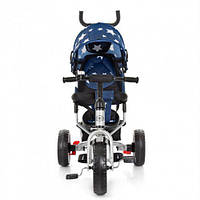 Трехколесный велосипед Turbo Trike M 3113A-S11 Blue Stars, фото 1