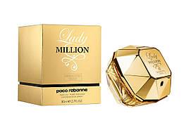 Женская парфюмированная вода Paco Rabanne Lady Million 80 ml, Пако Рабан Леди Миллион 80 мл, Реплика супер качество
