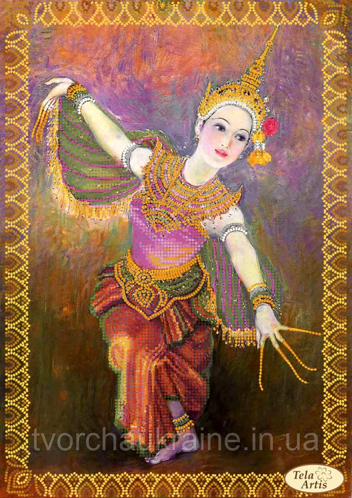 Схема для вышивания бисером  Цветок Таиланда