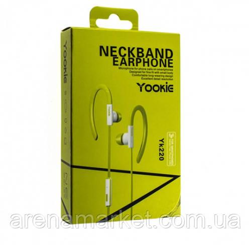 Навушники Yookie YK220 - зелений