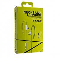 Наушники Yookie YK220 - зеленый