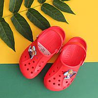 Детские кроксы оптом пляжная обувь недорого производитель Украина р. 22-35, фото 1