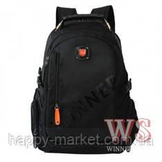 Рюкзак молодіжний для хлопчика підлітків і старшекластиков 234 Winner чорний