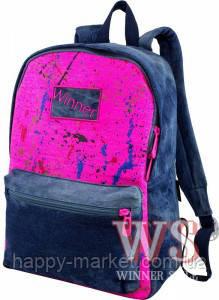 Рюкзак школьный для девочек подросток 160 Winner, фото 2