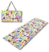Коврик сумка трансформер Relax на липучке (машинки) (сумка килимок на липучці)