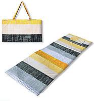 Коврик сумка трансформер Relax на липучке (летний узор) (сумка килимок на липучці)