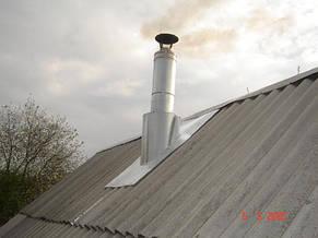 Крыза на дымоход из оцинкованной стали, фото 3