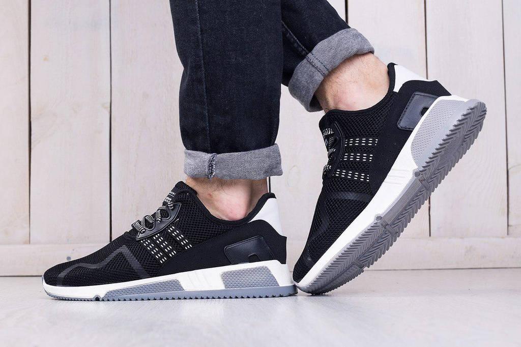 Adidas EQT Cushion Black White (реплика)