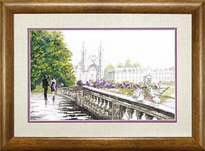 """Набор для вышивания крестом ВТ-061 """"Мост влюбленных"""",Crystal Art"""