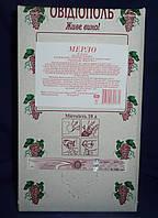 Вино Мерло в упаковке bag in box 10л(столовое полусухое красное)