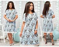 Платье женское длинное с кружевом P10038, фото 1