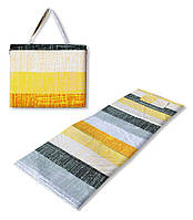 Коврик сумка трансформер Holiday на молнии (летний узор) (сумка килимок на блискавці)