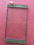 Оригинальный тачскрин /сенсор (сенсорное стекло) Assistant AP-875 3G (белый с вырезом под динамик самоклейка), фото 2
