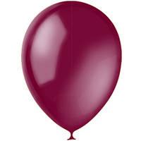 """Воздушные шары 5""""(13 см) Декоратор BURGUNDY 046. В упак: 100 шт. Пр-во:""""Latex Occidental""""(Мексика)"""