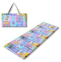 Коврик сумка трансформер Relax на липучке (котята) (сумка килимок на липучці)
