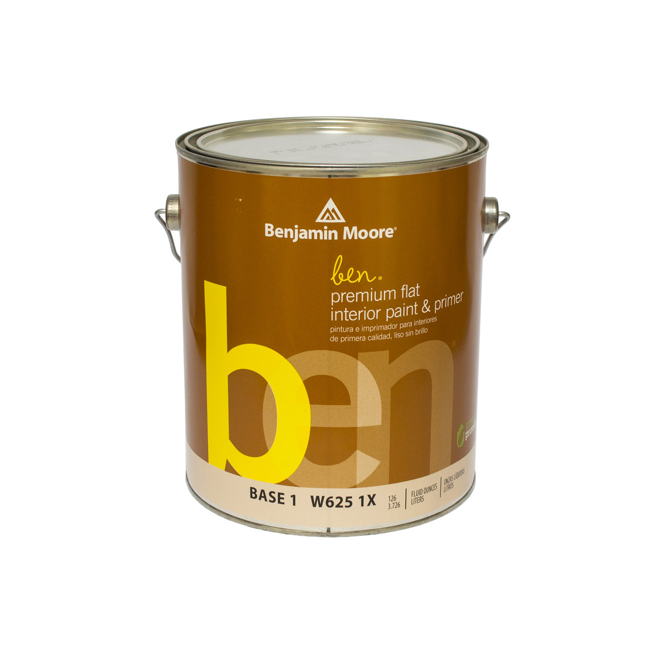 Краска интерьерная  Benjamin Moore BEN interior Waterborne Flat Paint (625) 3,78л