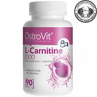 Жиросжигатель Ostrovit L-Carnitine 1000 90 таб