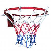 Кольцо баскетбольное усиленное Newt 450 мм (NE-BAS-R-045-ST-G) сетка в комплекте