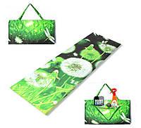 Коврик сумка трансформер Relax на липучке (одуванчик) (сумка килимок на липучці)