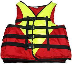 Страхувальний жилет для плавання SZ-110 (утримуваний вага 110+ кг), фото 3