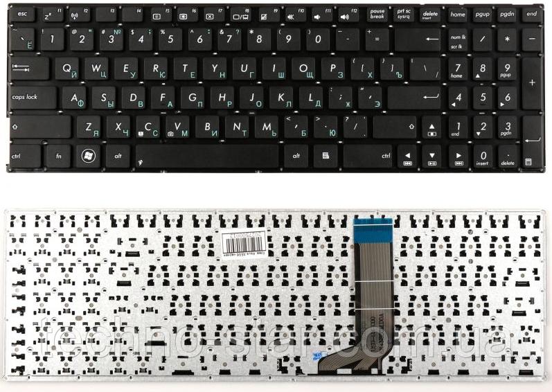 Клавиатура для ноутбука Asus X556 X556UA X556UB X556UF X556UJ X556UQ X556UR X556UV OKNBO-6122US0Q раскладка RU