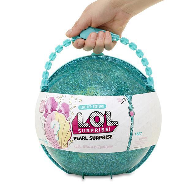 Оригинал Игровой набор с куклой ЛОЛ Сюрприз Жемчужина - LOL Surprise Pearl Зеленый 551508