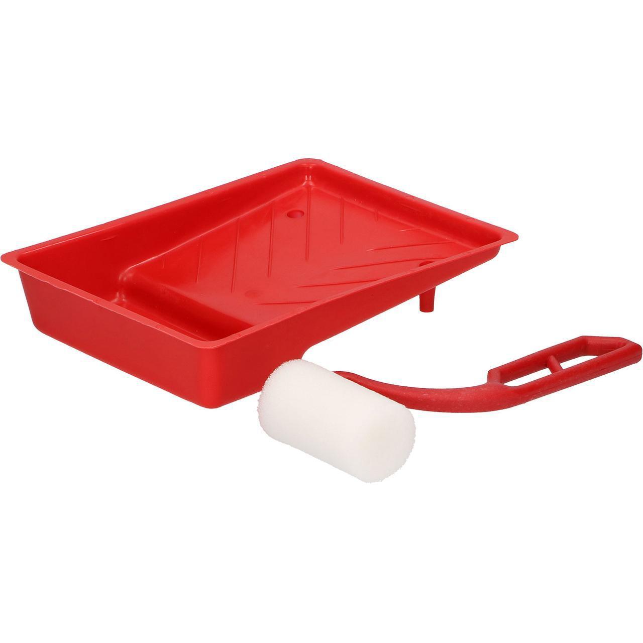 Валик 35х50 мм + ванночка + ручка пластикова DRAUMET