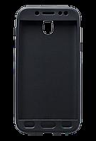 Чохол силіконовий 360 для Samsung Galaxy J7 2017 SM-J730F Black