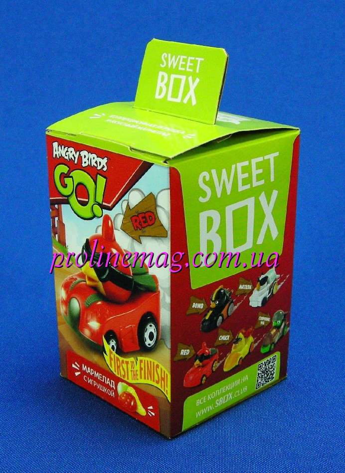 Свит Бокс ANGRY BIRDS GO Мармелад с игрушкой в коробочке