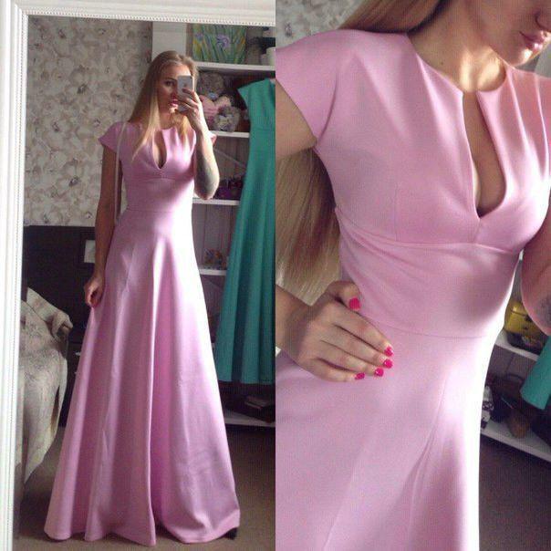 Платье вечернее выпускное длинное  от производителя 42 44 46 48 50 Р, фото 1