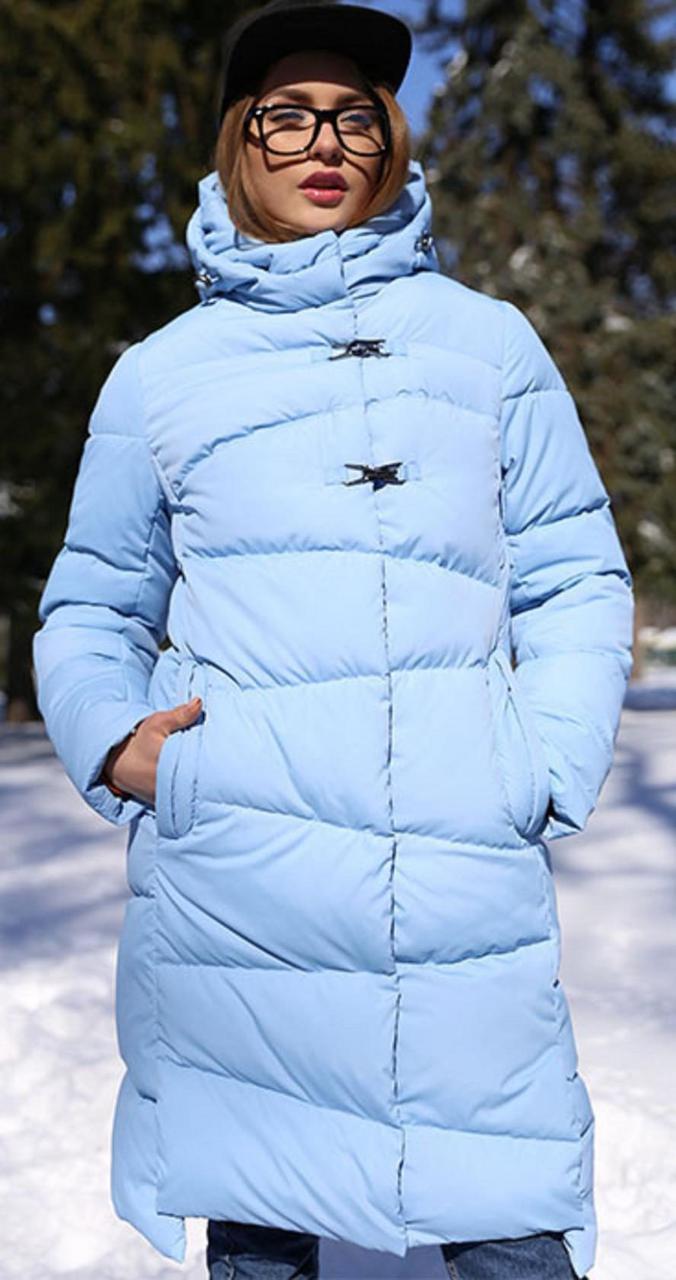 Пальто  с высоким воротником-стойкой