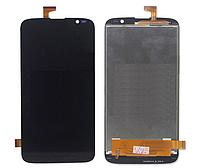 Оригинальный дисплей (модуль) + тачскрин (сенсор) для Gigabyte GSmart Roma RX (черный цвет)