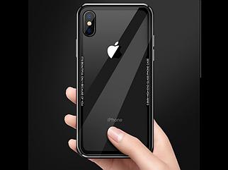 Чехол накладка HD Glass Copy VIP Design TRANSPARENT iPhone 7/8