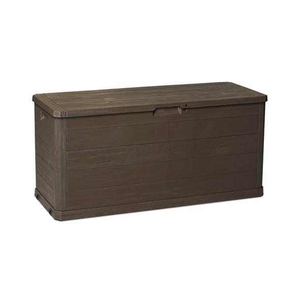 Скриня пластиковий Woodys Lin 280 л коричневий Toomax
