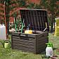 Сундук пластиковый Compact Box Florida 120 л коричневый Toomax, фото 3