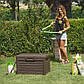 Сундук пластиковый Compact Box Florida 120 л коричневый Toomax, фото 4