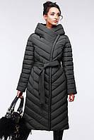 Женское пальто с карманами