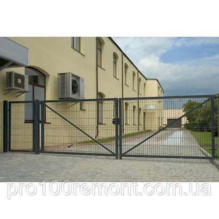 Ворота распашные 1.26х5м, фото 2