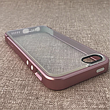 Чехол Spigen Linear Metal Crystal iPhone 5s/SE Metal pink (SGP10045) EAN/UPC: 880935361337, фото 3