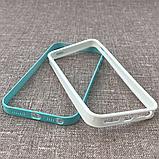 Бампер Spigen NEO HYBRID EX Slim Snow iPhone 5s/SE mint (SGP10030) EAN/UPC: 880935361339, фото 2